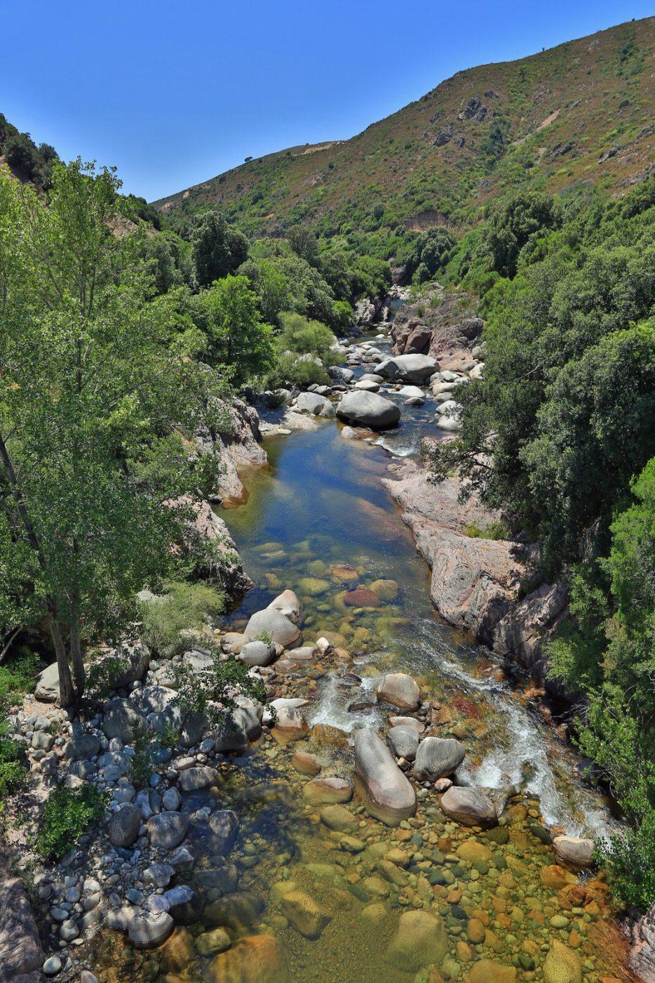 Randonnée aquatique Gravona Corse du Sud